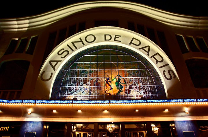 Facade Casino de Paris